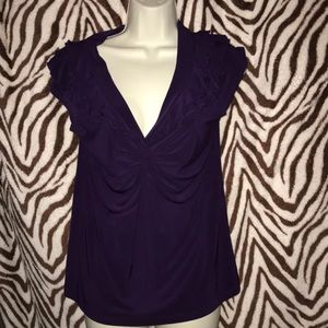 Vintage Suzie medium purple top